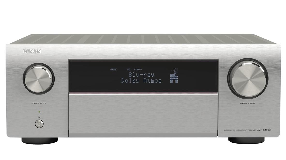 Denon AVR-X4500H Silver Δικτυακός Ραδιοενισχυτής Home Cinema 9.2 ch