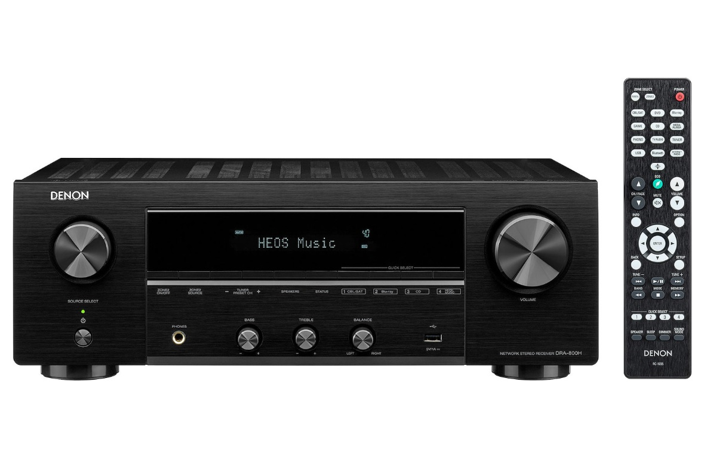 Denon DRA-800H Black Δικτυακός Ραδιοενισχυτής Hi-Fi Stereo 2 x 100W