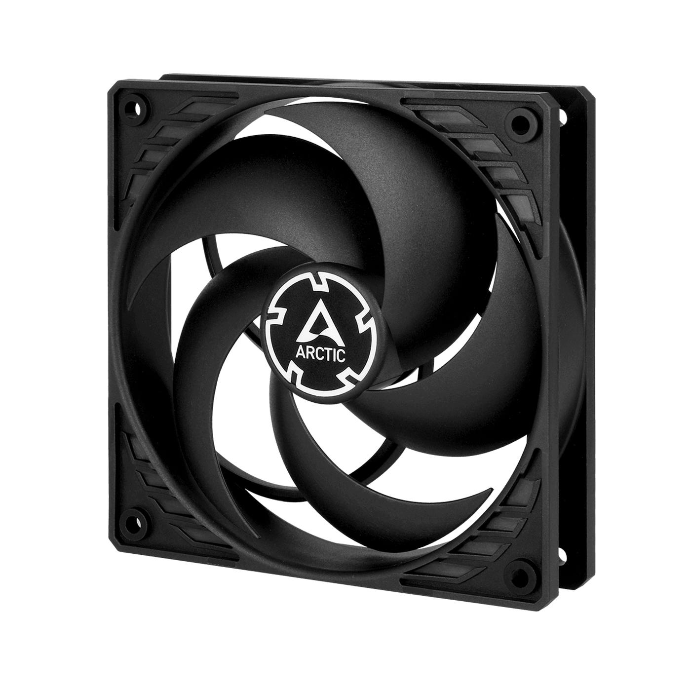 ARCTIC F12 PWM (BLACK) – 120MM CASE FAN WITH PWM CONTROL