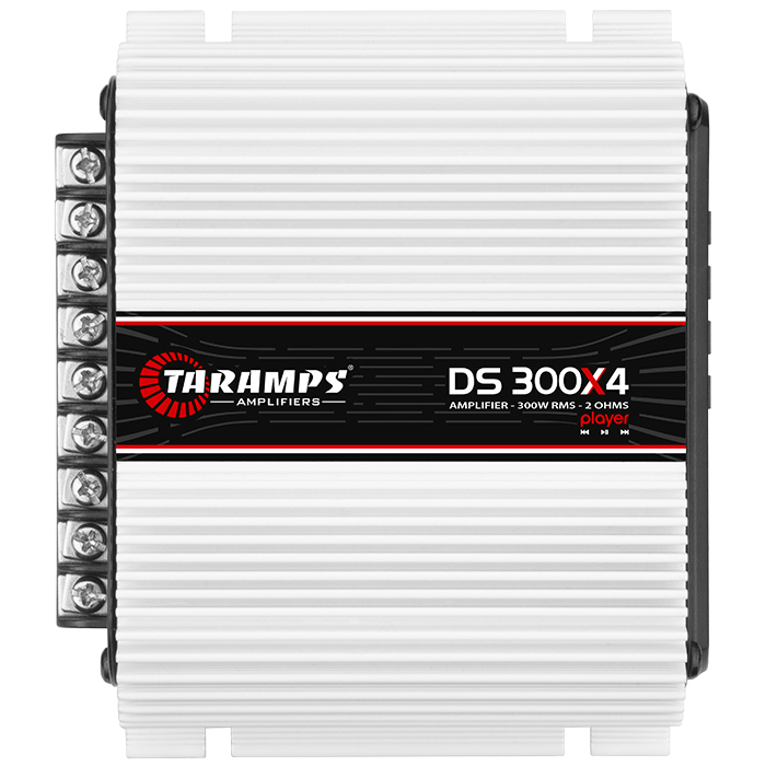 Taramps DS 300X4 PLAYER Τετρακάναλος Ενισχυτής Αυτοκινήτου / 2 Ohm