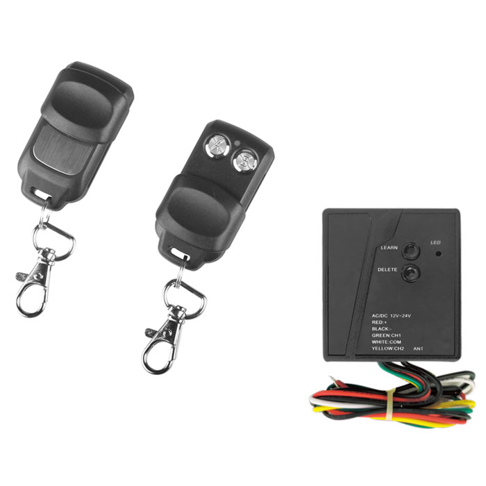 SUPERIOR INDOOR KIT RECEIVER WITH 2 REMOTE 433,92MHz