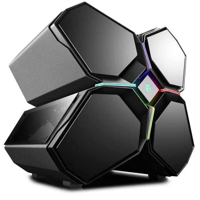 DEEPCOOL QUADSTELLAR E-ATX PC CASE BLACK