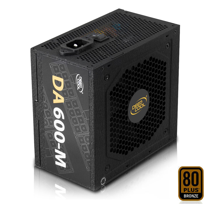 DEEPCOOL DA600-M POWER SUPPLY 600W