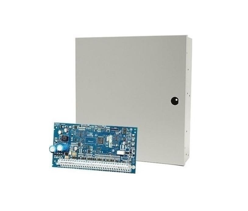 DSC POWERSERIES NEO HS2128NKE Υβριδικός Πίνακας Συναγερμού 8 έως 128 Ζωνών με Μεταλλικό Κουτί