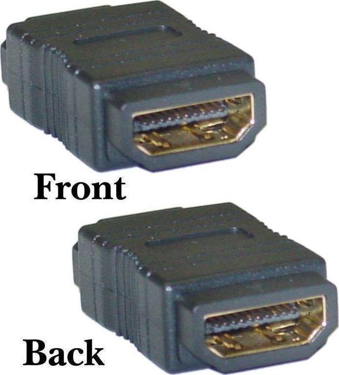 Powertech, CAB-H027, Αντάπτoρας HDMI σε HDMI  F/F