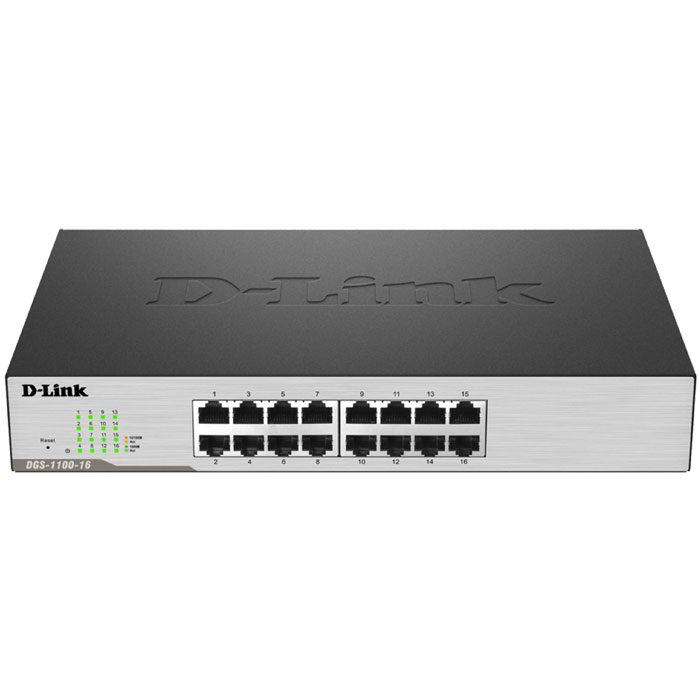 D-LINK DGS-1100-16 GIGABIT 16-PORT SMART SWITCH