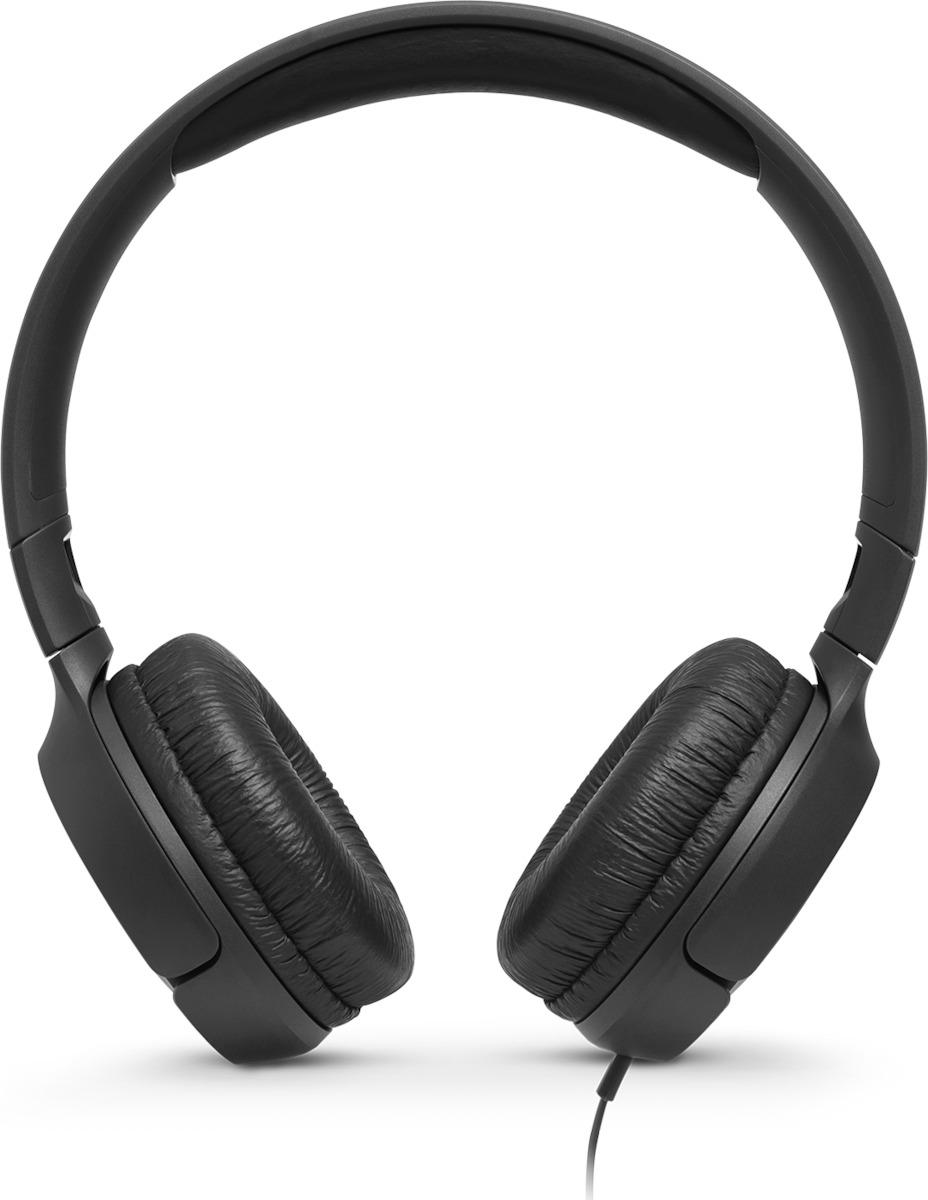 JBL TUNE500 Black Ενσύρματα Ακουστικά On-Ear