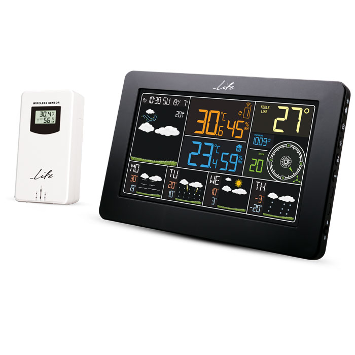 LIFE OCEANIC SMARTWEATHER Wi-Fi Weather station with wireless outdoor WES-401