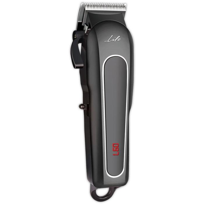LIFE Durable Pro Digital Hair Clipper Cord & Cordless, Matte Black