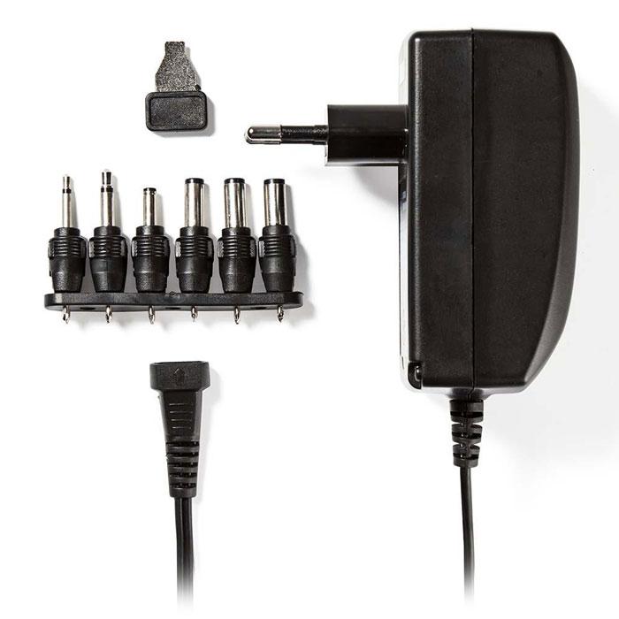 NEDIS ACPA007 Universal AC Power Adapter, 3/4.5/6/7.5/9/12 VDC, 2.25 A