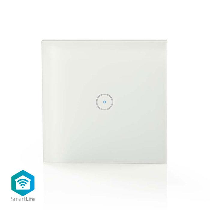 NEDIS WIFIWS10WT WiFi Smart Light Switch, Single