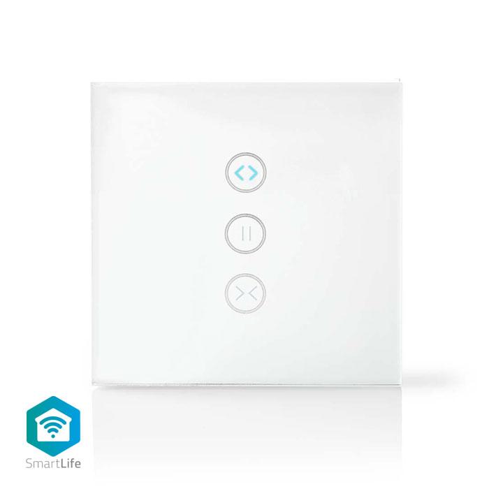 NEDIS WIFIWC10WT WiFi Smart Wall Switch, Curtain, shutter or sunshade controller