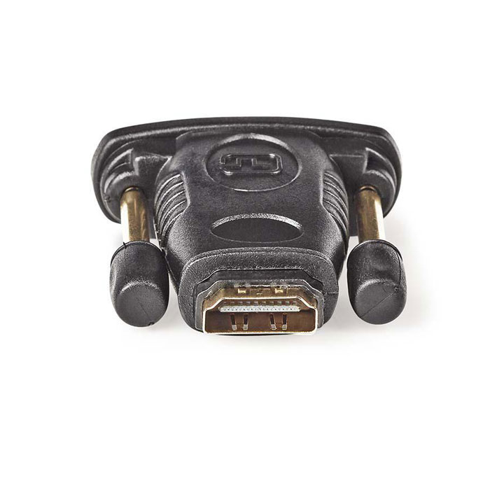 NEDIS CVGP34912BK HDMI - DVI Adapter, DVI-D 24+1-pin male - HDMI Female, Black