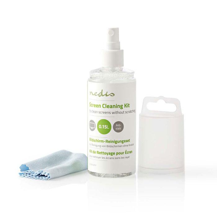 NEDIS CLSN100TP Screen Cleaner Kit, TV Smartphone, Tablet, 150 ml