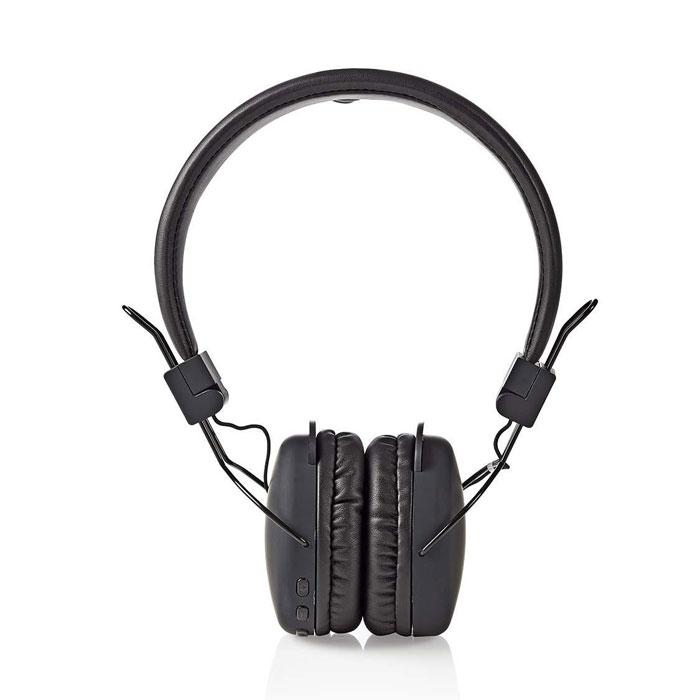 NEDIS HPBT1100BK Wireless Headphones, Bluetooth, On-ear, Foldable, Black