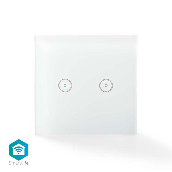 NEDIS WIFIWS20WT WiFi Smart Light Switch Dual