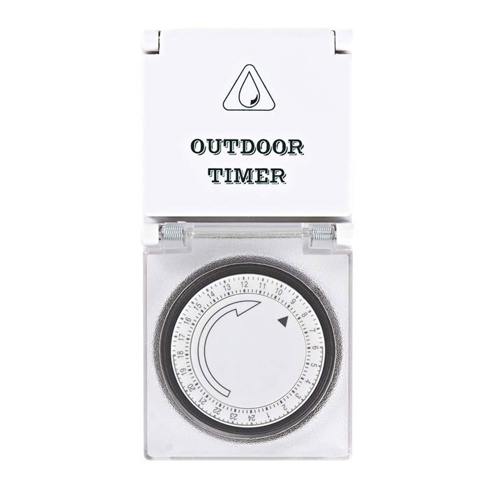 NEDIS TIME03 Timer Analogue Outdoor 3500W