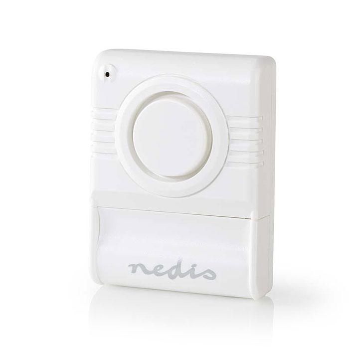 NEDIS ALRMGB10WT Glass Break Alarm Built-in Siren Adjustable Sensitivity