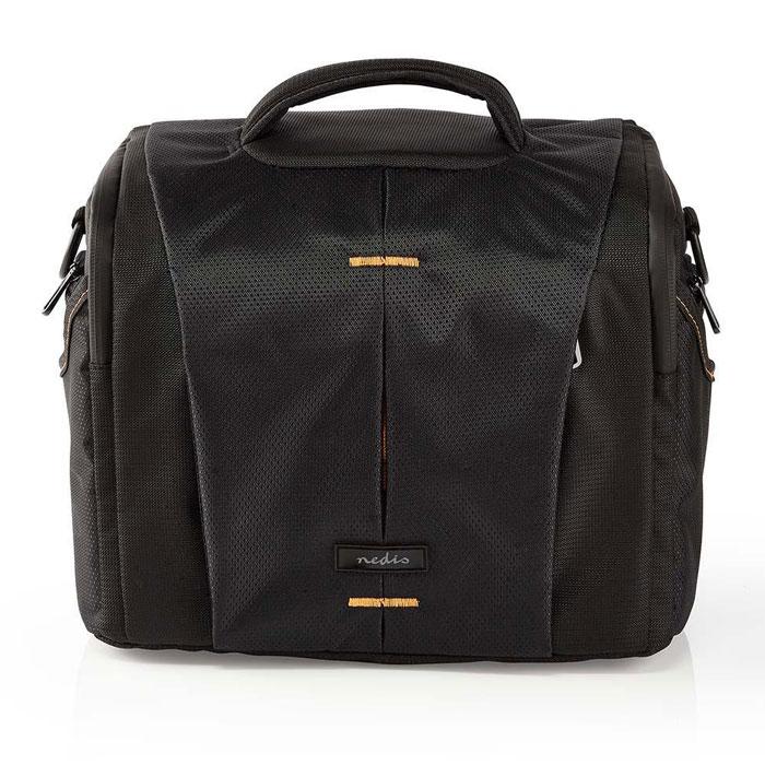 NEDIS CBAG220BK Camera Shoulder Bag 250 x 210 x 170 mm 3 Inside pockets Black/Or
