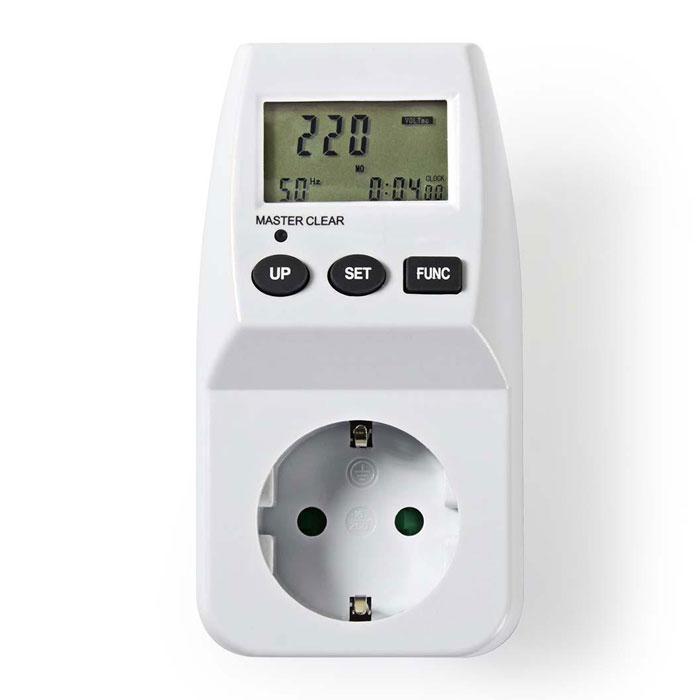 NEDIS ECOM01 Energy Consumption Monitor Digital 3600 W White