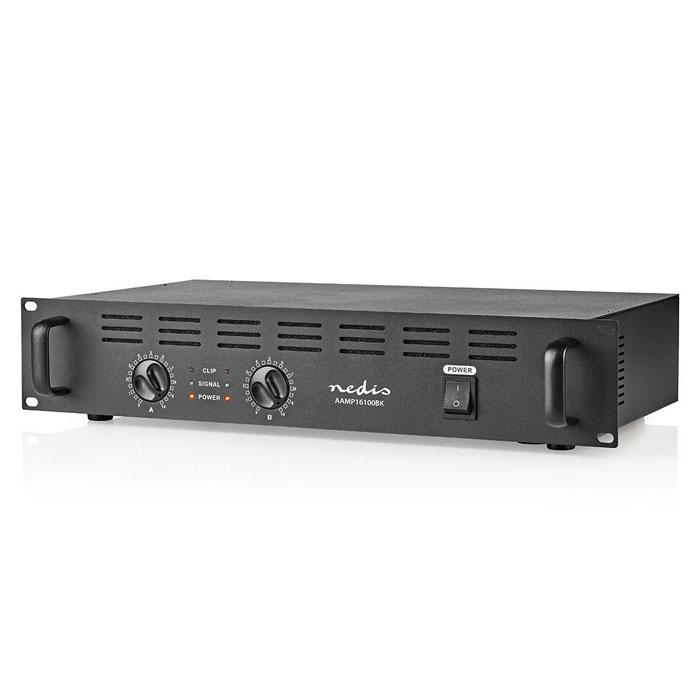 NEDIS AAMP16100BK PA Amplifier 2x 120 W 19