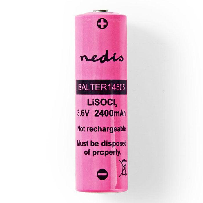 NEDIS BALTER14505 Lithium Thionyl Chloride Battery ER14505 3.6 V 2400 mAh