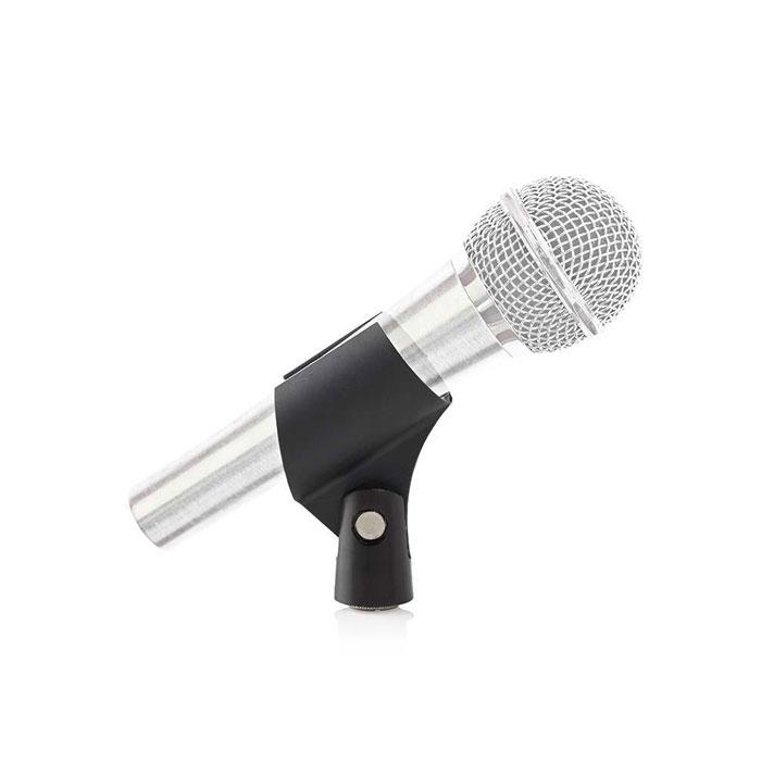 NEDIS MPCL20BK Microphone Holder Universal 5/8 and 3/8 Screw Black