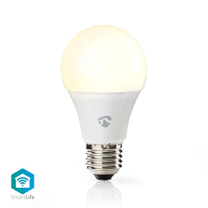 NEDIS WIFILW11WTE27 WiFi Smart LED Bulb Warm White E27