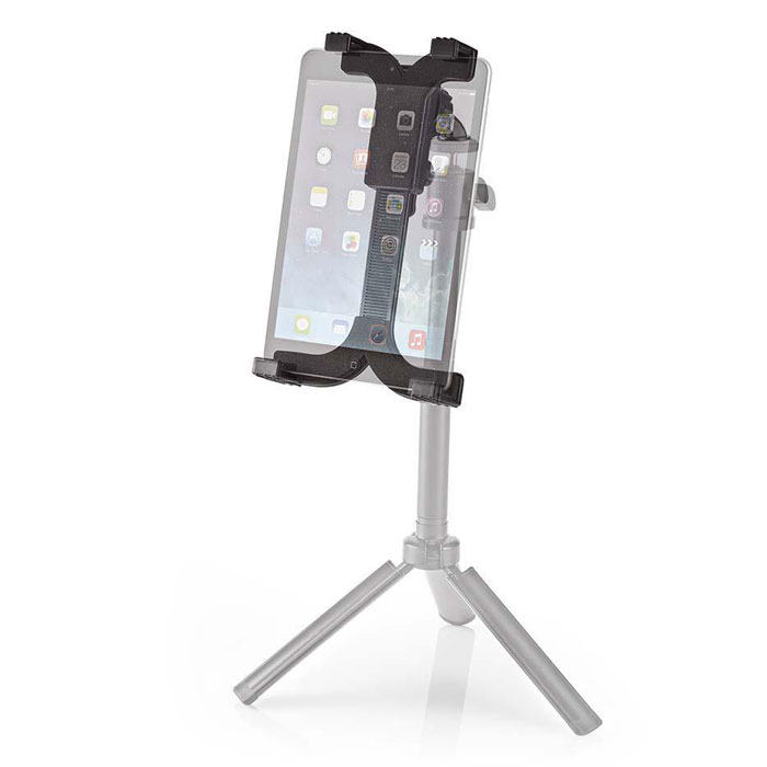 NEDIS TTMT100BK Tablet Holder 12,5 - 24cm fits tripod with 1/4 screw