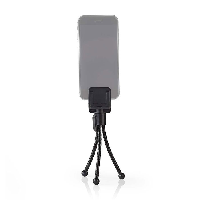 NEDIS SMTD100BK Smartphone Mini Tripod 15.8 cm Black 4
