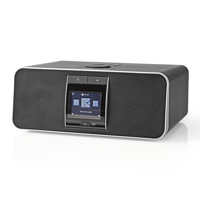 NEDIS RDIN5000BK Internet Radio 42 W DAB+ FM Bluetooth Black