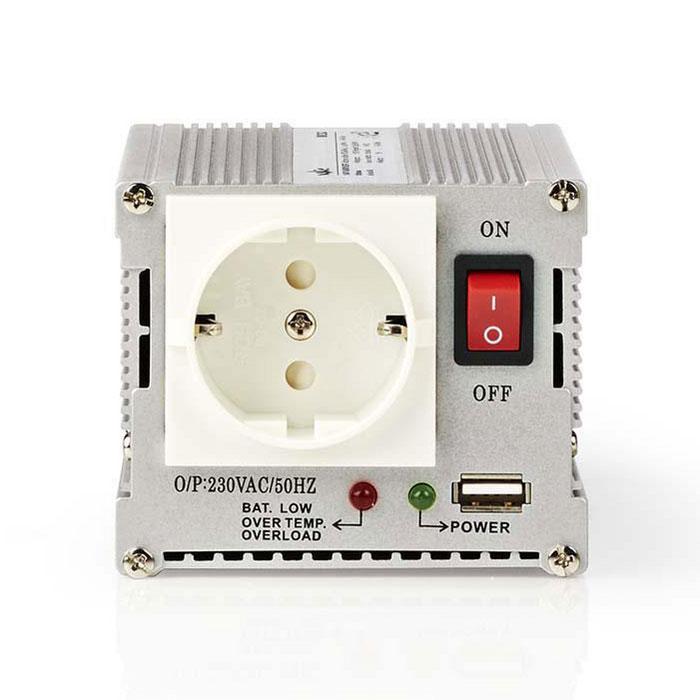 NEDIS PIMS30012 Power Inverter Modified Sine Wave 12 V DC - 230 V AC 300 W 1x Sc