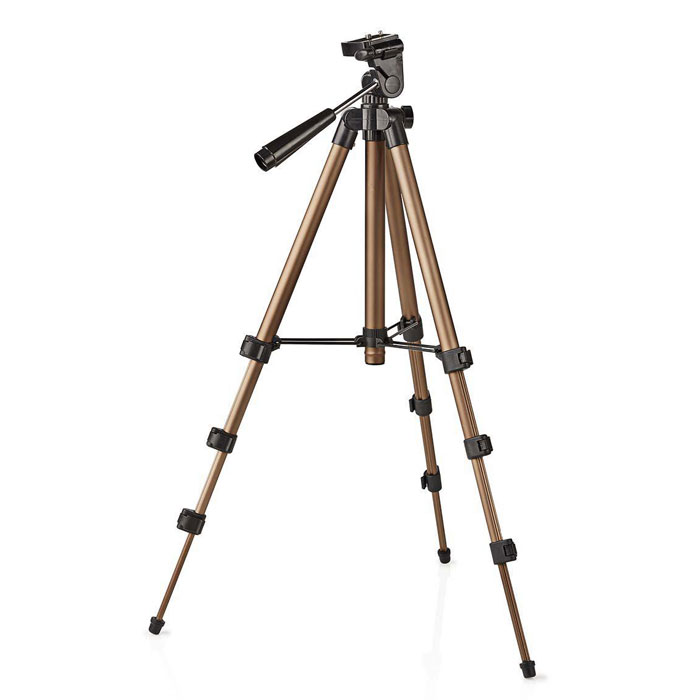 NEDIS TPOD2000BZ Tripod Pan & Tilt Max 1.5 kg 105 cm Black/Silver