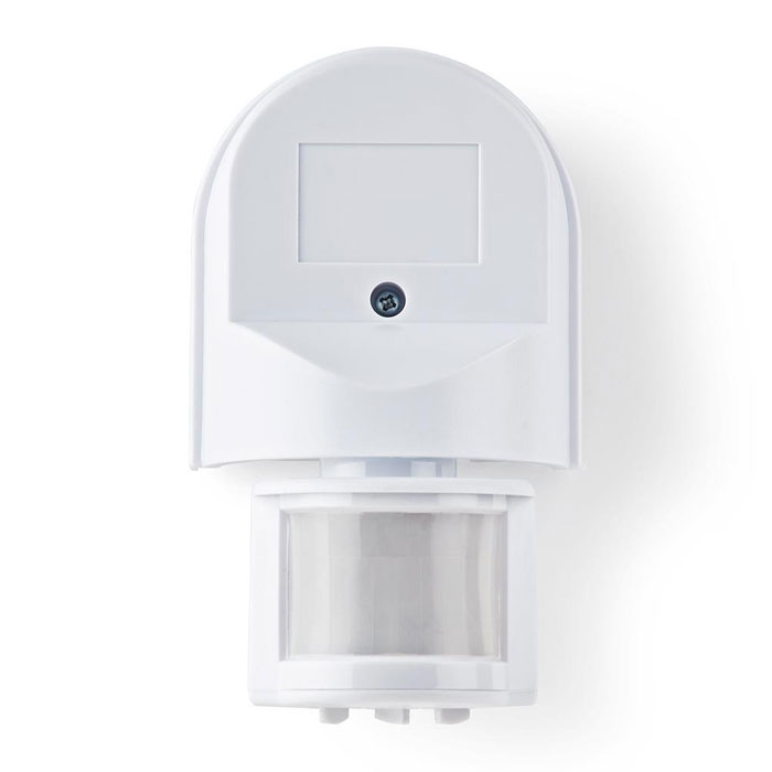 NEDIS PIROO21WT Motion Detector Outdoor Time and Ambient Light Settings 3-Wire I
