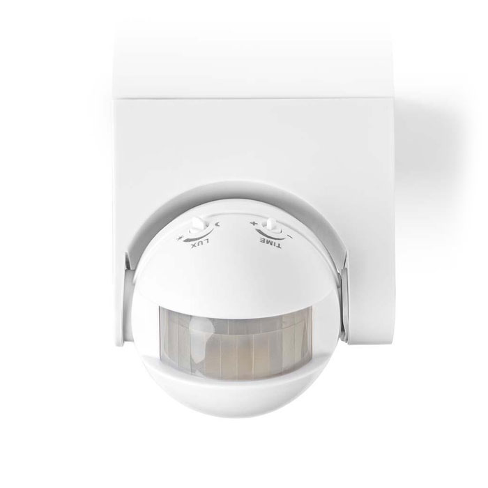 NEDIS PIROO20WT Motion Detector Outdoor Time and Ambient Light Settings 3-Wire I