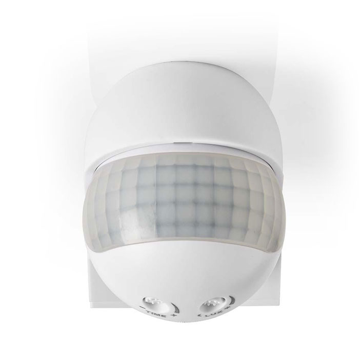NEDIS PIROO23WT Motion Detector Outdoor Time and Ambient Light Settings 3-Wire I
