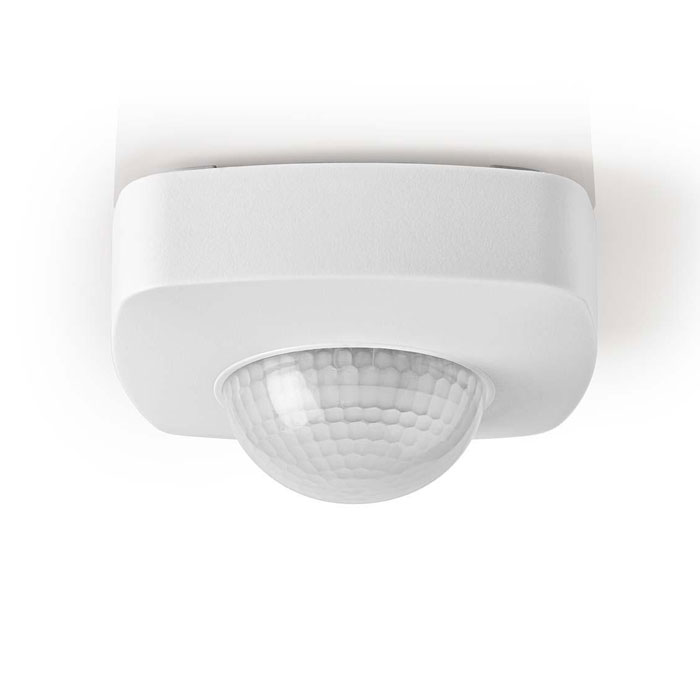 NEDIS PIRPO32WT Motion Detector Outdoor 3-Wire Installation Adjustable Time,Ambi