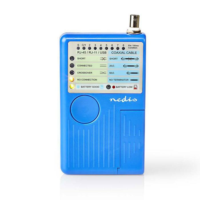 NEDIS NWCTM100BU LAN Cable Tester