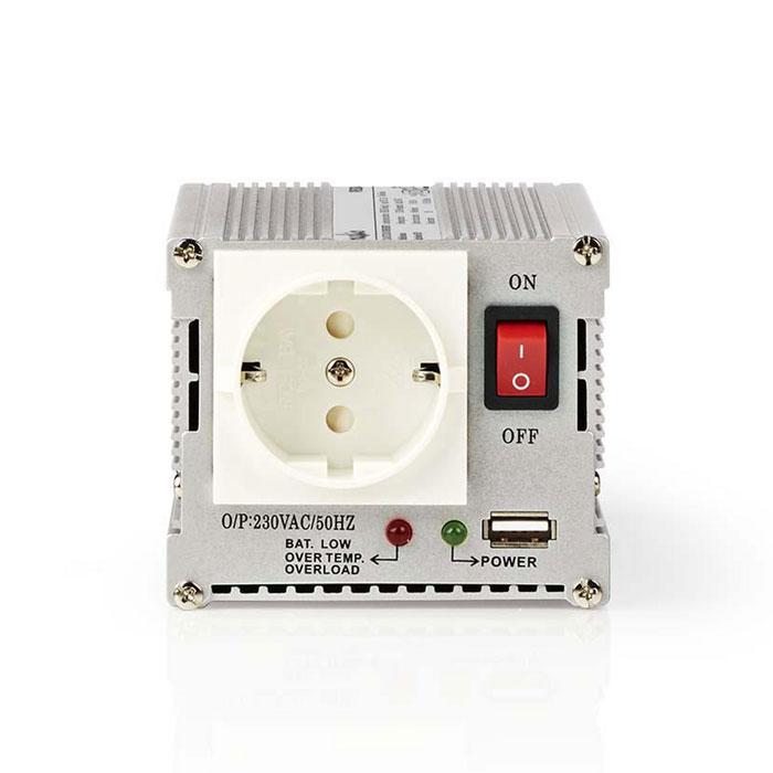 NEDIS PIMS30024 Power Inverter Modified Sine Wave 24V DC - 230V AC 300W 1x Schuko