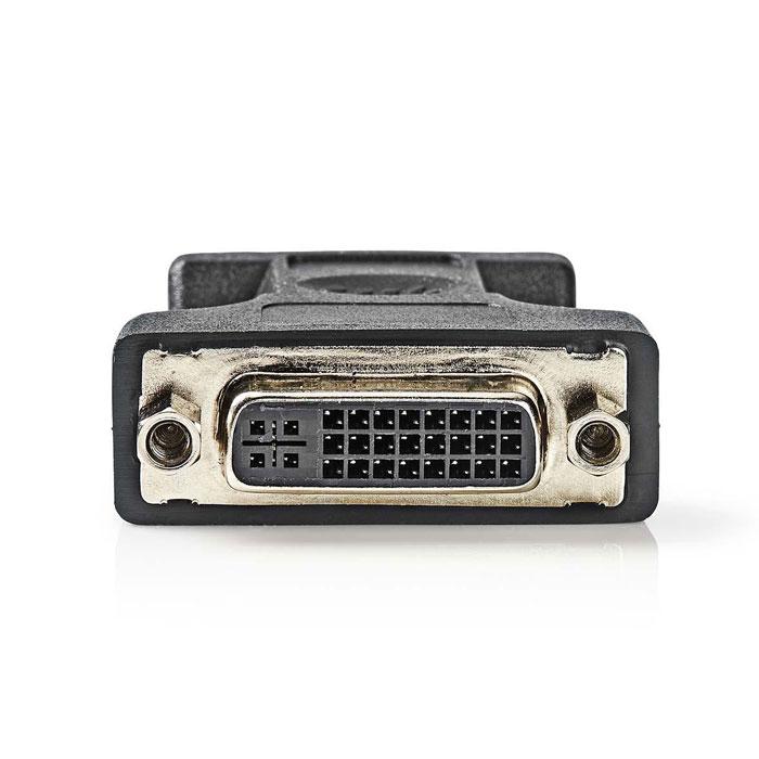 NEDIS CCGP32901BK VGA - DVI Adapter VGA male - DVI-I 24+5-pin Female Black