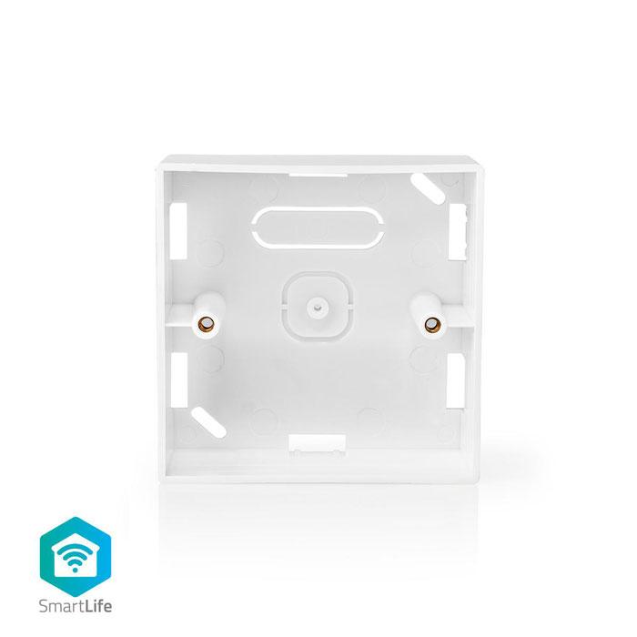 NEDIS WIFIWB10WT Back Box Surface Mounting 86 x 86 mm White