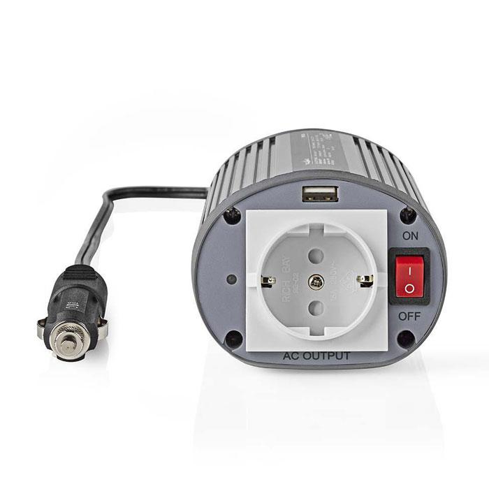 NEDIS PIMS15024 Power Inverter Modified Sine Wave 24 V DC - 230 V AC 150 W