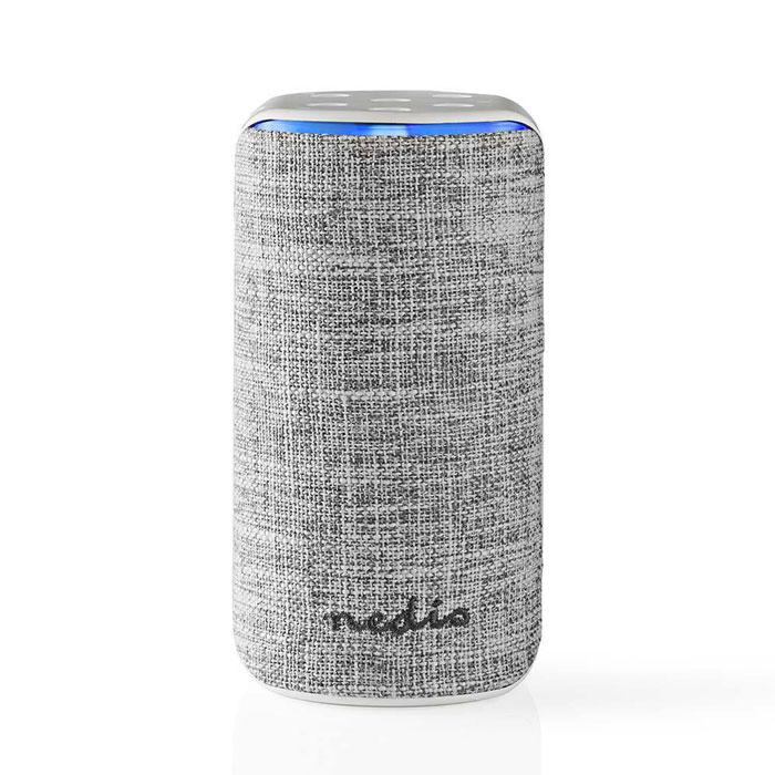 NEDIS SPVC7000WT Smart Wifi Speaker 15 W Amazon Alexa Far Field Voice Control Wh