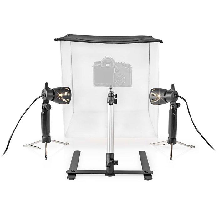 NEDIS SKT010WT LED Photo Studio Kit 40 x 40 cm 6500 K Foldable
