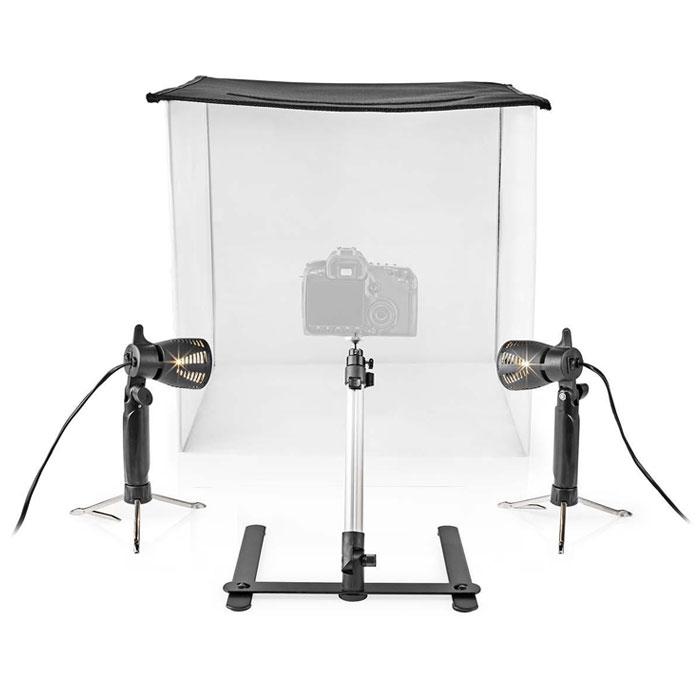 NEDIS SKT012WT LED Photo Studio Kit 60 x 60 cm 6500K Foldable