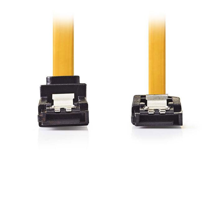 NEDIS CCGP73260YE10 SATA 6Gb/s Data Cable SATA 7-pin Fem.-SATA 7-pin Fem. 270° A