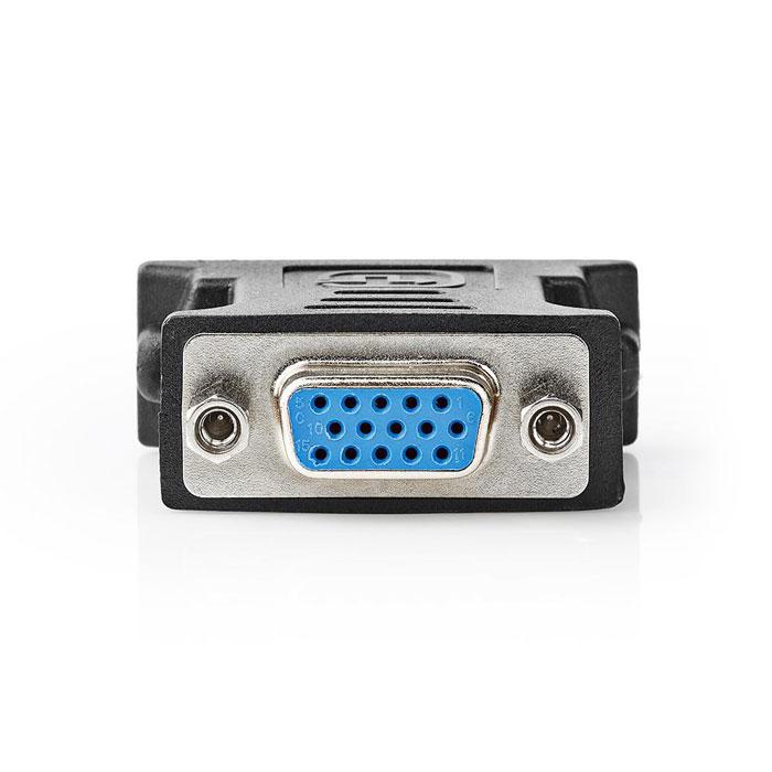 NEDIS CCGP32902BK DVI - VGA Adapter DVI-D 24+1-Pin Male - VGA Female Black