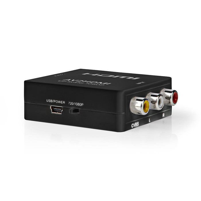 NEDIS VCON3456AT Composite Video to HDMI Converter 1-Way - 3x RCA (RWY) HXDMI Out
