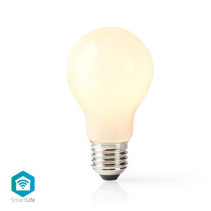 NEDIS WIFILF11WTA60 Wi-Fi Smart LED Bulb E27 A60 5 W 500 lm White