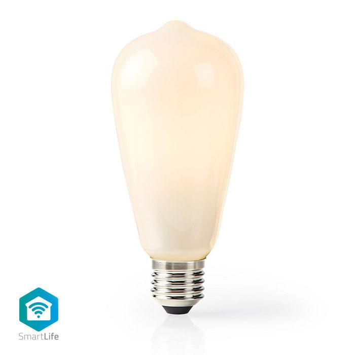 NEDIS WIFILF11WTST64 Wi-Fi Smart LED Bulb E27 ST64 5 W 500 lm White
